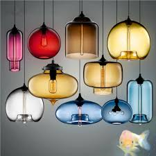 <b>Artpad Multi Color Stained</b> Clear Glass Pendant Light Lamp for ...