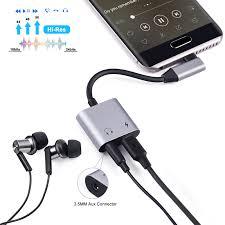 Audio <b>Adapters</b> Electronics Samsung Galaxy S9/S9+/S8/8 More ...