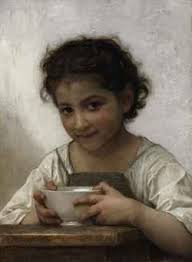 La soupe au lait. Enlarge & Zoom - william_adolphe_bouguereau_la_soupe_au_lait_d5403399h