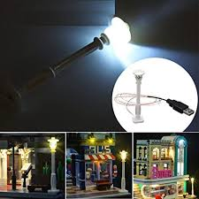 BouBou <b>Universal Diy Led White</b> Street Lamp For Lego: Amazon.co ...