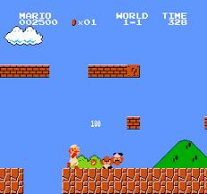 Mario har pimpa seg litt med nye hvite klær.