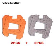 <b>X6 LIECTROUX Fiber</b> Mopping Cloths for robot window cleaner ...