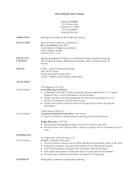 marketing intern resume examples cipanewsletter internship resume examples getessay biz