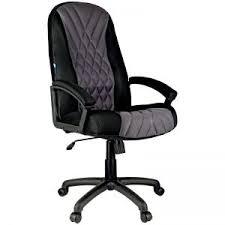 "<b>Кресло руководителя Helmi HL-E85</b> ""Graphite"", ткань TW черная ..."