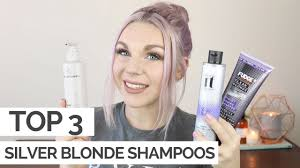 Top 3 Silver Shampoos | ADVICE - YouTube