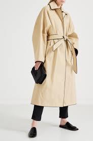 Хлопковое пальто бежевого цвета <b>Cocoon</b> Balenciaga – купить в ...