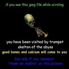 thank mr skeltal via Relatably.com