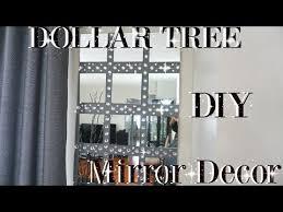 tree wall decor art youtube: diy dollar tree bling mirror wall art decor petalisbless youtube