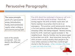 WRITING WORKSHOP II Persuasive Writing Persuasive writing offers SlidePlayer Persuasive Paragraphs The same principle parts of