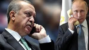 تركيا - أردوغان يهاتف بوتين ليطلعه على سير التحقيقات في جريمة اغتيال السفير الروسي