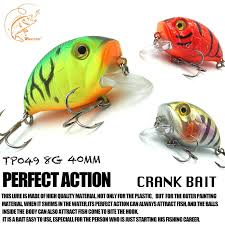 <b>Thritop Crankbait</b> Fishing Lures <b>Wobblers</b> Artificial Hard Bait 3D ...