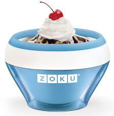 "<b>Мороженица</b> Zoku ""<b>Ice Cream Maker</b>"", цвет: синий, 150 мл. ZK120 ..."