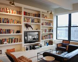 Living Room With Bookcase Amazing Bookcase Ideas For Living Room Design For Small Space With