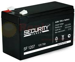 <b>Аккумулятор Security Force</b> SF 1207 - 12v 7Ah купить, доставка