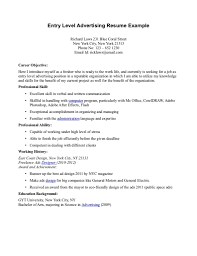 how to write a entry level resume  socialsci cohow