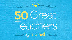 great teachers npr