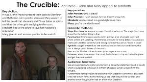 the crucible miss ryan s gcse english media act 3 5 act 3 english literature the crucible
