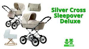 Универсальная коляска <b>Silver Cross</b> Sleepover Deluxe - YouTube