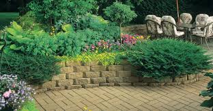 Small Picture Build a Retaining Wall with Landscape Blocks Garden Club