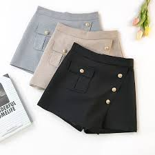 <b>AcFirst</b> Spring Sequined Black Gray Polyester Shorts Women ...