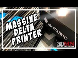 Giant <b>Delta 3D Printer</b> For $339! Anycubic <b>Predator</b> Live Build And ...