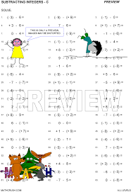 Multiplication, division, addition, subtraction worksheets by Math ...Version C Preview · Print · Answers. Multiplication