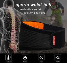 WOSAWE Motorcycle Protective Kidney <b>Belt Waist Support Belt</b> ...