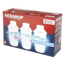 Сменная кассета <b>АКВАФОР</b> B5 (<b>В100</b>-<b>5</b>) защита от бактерий, 3 ...