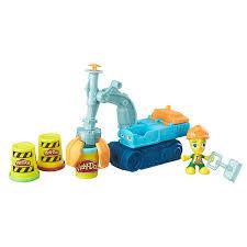 <b>Play</b>-<b>Doh Экскаватор</b> набор для творчества <b>Hasbro</b> купить в ...