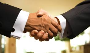 Image result for agents shaking hands pics