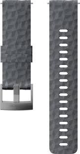 <b>Ремешок Suunto 24 Exp1</b> Silicone Strap Graphite/Gray M — купить ...