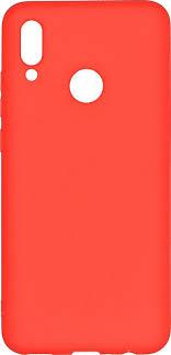 <b>Чехол</b>-накладка <b>Pero</b> для Huawei P Smart 2019, красный ...