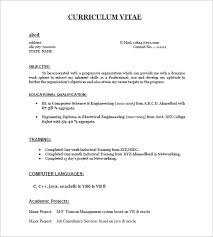 resume templates for freshers – free samples  examples    freshers resume sample pdf