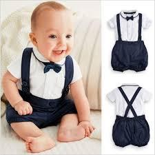 New Toddler Boys Clothing Set Summer <b>Baby</b> Suit Shorts Shirt 12M ...