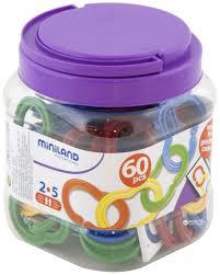 <b>Набор развивающий</b> Цепи (60 эл) <b>Miniland</b> - купить в магазине ...