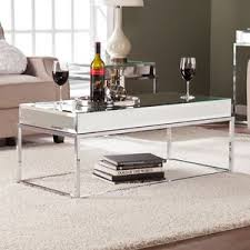 Wildon Home ? Kyla <b>Mirrored Coffee Table</b> - Sakmer Kropro
