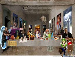 Meme's Last Supper by recyclebin - Meme Center via Relatably.com