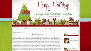 christmas blog templates archives bd web studio crazy over christmas blog template