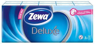 <b>Zewa</b> deluxe <b>платки носовые</b> бумажные 10шт спайка N 10 купить ...