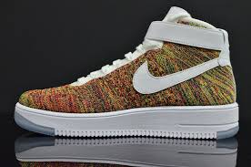 multicolor nike air force 1 flyknit 817420 700 14 air force 1 flyknit
