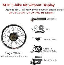 <b>Ebike Conversion</b> Hub Kit Electric <b>MTB</b> Wheel Motor PAS 8 KT ...