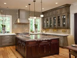 Different Kitchen Cabinets Kitchen Grey Wash Kitchen Cabinets And Beautiful Really Like The