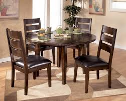 Round Dining Room Furniture Round Wood Dining Table Set Egiatk