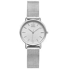 <b>SK</b> Women Watches <b>Ultra Thin</b> Quartz Watches Elegant Dress Girls ...
