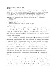 essay examples for high school   essay examplesample resume  persuasive essay