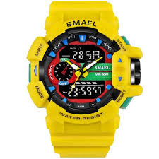 <b>Smael</b> homme montres sport LED affichage mode montres ...