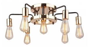 <b>Люстра Arte Lamp</b> Gelo <b>A6001PL</b>-<b>7BK</b>, E27, 280 Вт — купить по ...