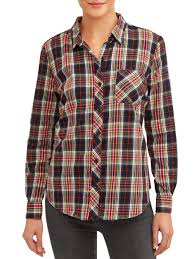 Red and Black Buffalo Plaid T-<b>Shirt</b> Hooded with A Pocket Rope Hat ...