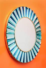 mirror wall decor circle panel: studio built circular mirror by ghira studio image