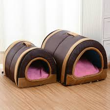 Portable <b>Winter Pet</b> Bed Collapsible Warm Soft <b>Dogs Cats</b> House ...